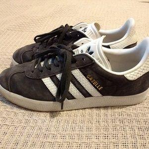 Adidas Gazelle Charcoal Grey